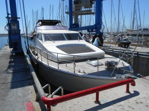 Expertise de bateau : San Lorenzo 57