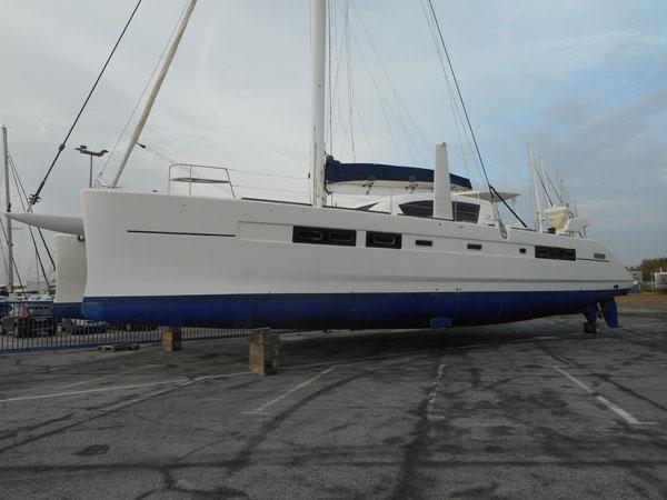 Expertise catamaran Catana 65'