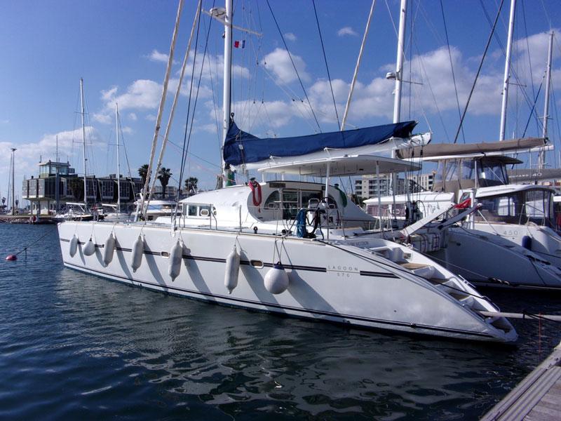 Expertise bateau Lagoon 570