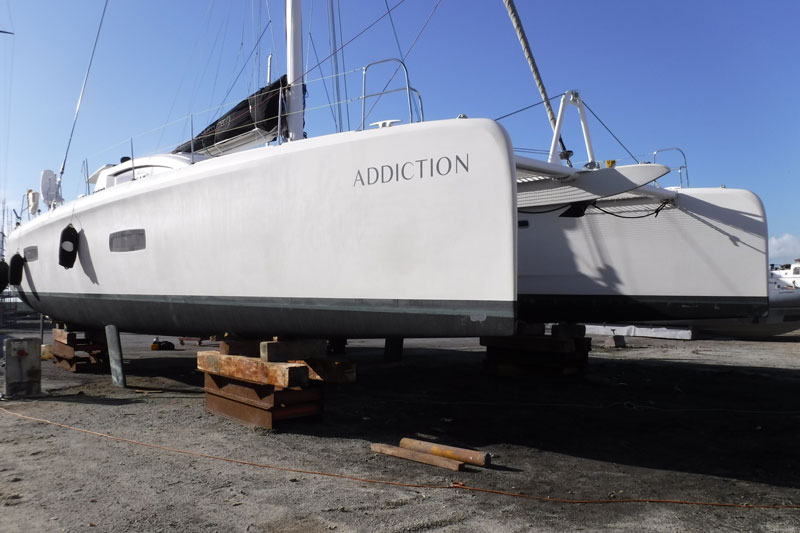 Expertise bateau Outremer 5X